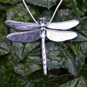 Brilliant Emerald Dragonfly Pendant-1---Emma-Keating-Jewellery