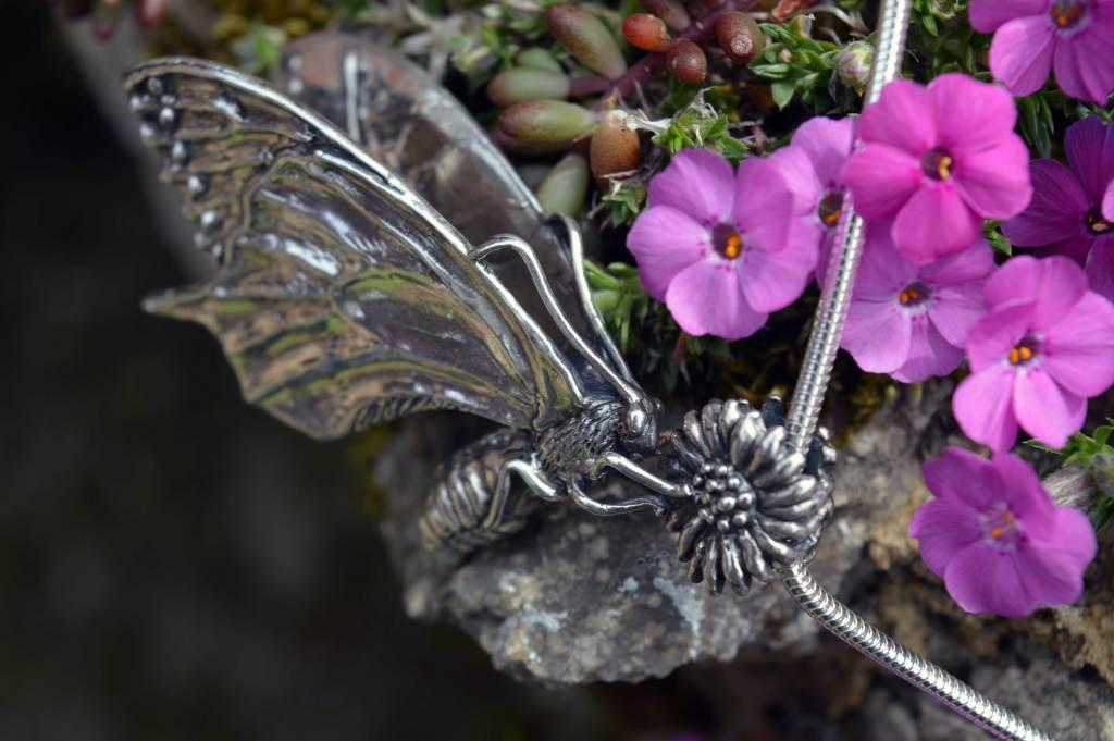 Swallowtail Butterfly Pendant