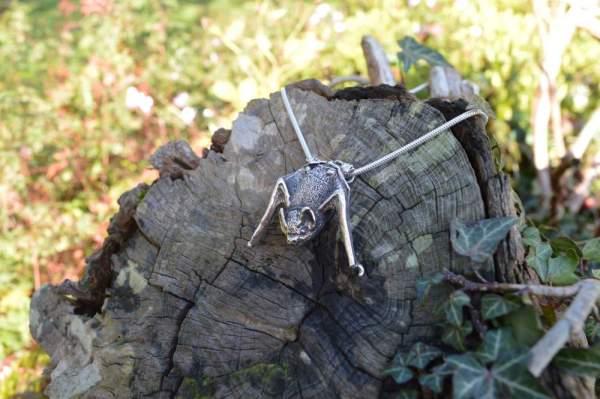 Pipistrelle Bat Pendant - Emma Keating Jewellery