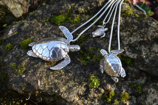 Green Sea Turtles - Emma Keating Jewellery
