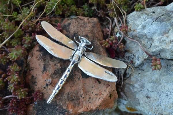 Dragonfly Ornament underside s - Emma Keating Jewellery