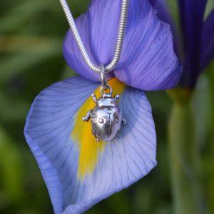 Ladybird Pendant 4s - Ladybird Charm- Emma Keating Jewellery