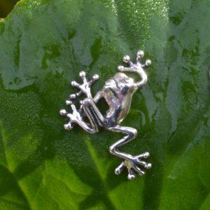 Mini Tree Frog Ornament by Emma Keating Jewellery