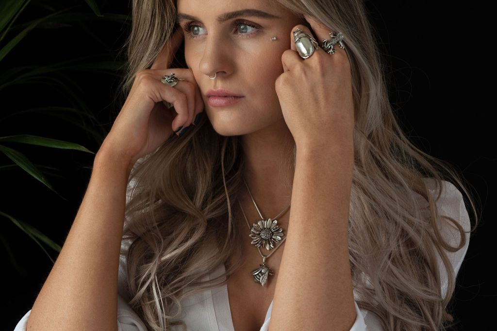 Queen Bee & Daisy Pendants MLR - Emma Keating Jewellery