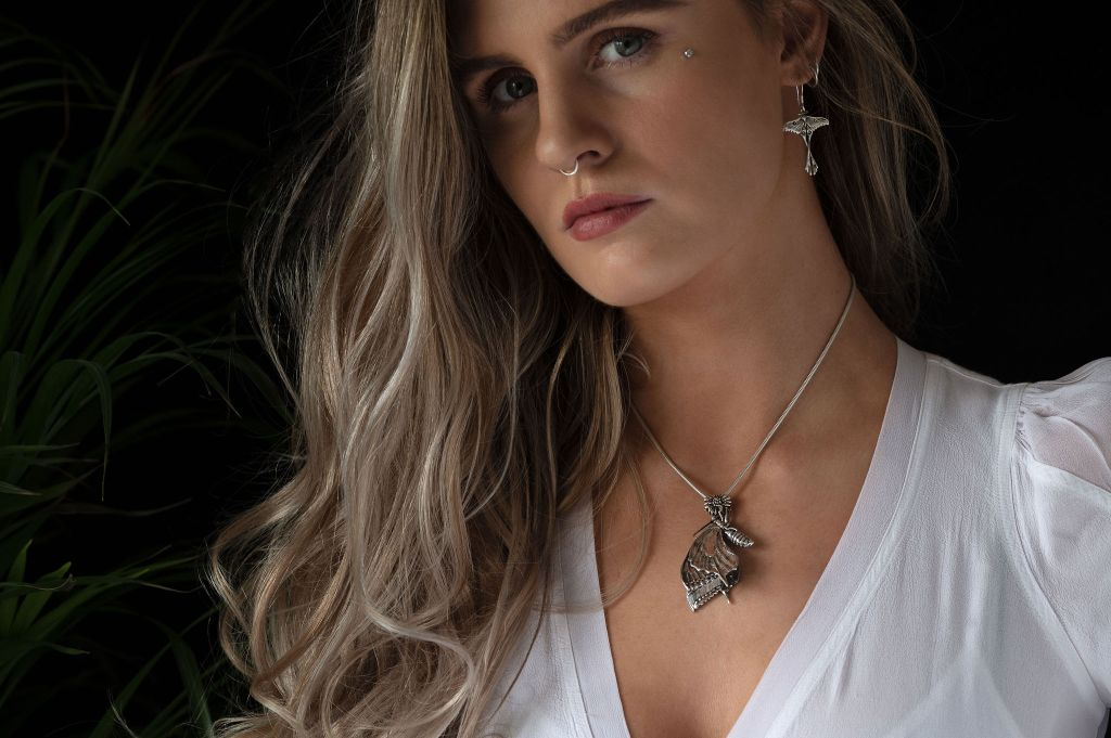 Swallowtail Pendant MLR - Emma Keating Jewellery