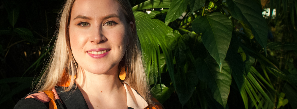 Emma Lindqvist eduskuntavaaliehdokas Vasemmisto Raisio