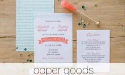 paper goods - Handmade Wedding Shop | Emmaline Bride® - The Marketplace