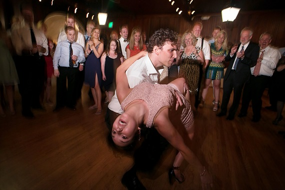 Dennis Drenner Photographs - evergreen house wedding - dancing dip
