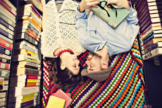 library engagement shoot