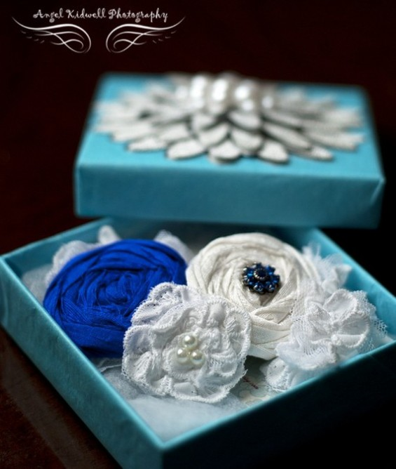 something blue garter