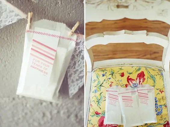 diy tissue packet