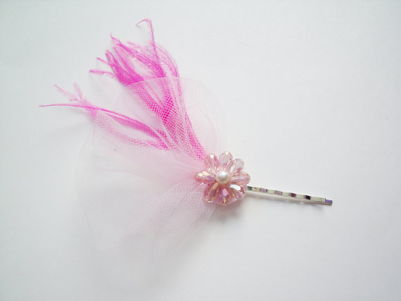 mini feather fascinators