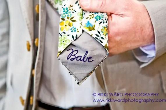 custom necktie