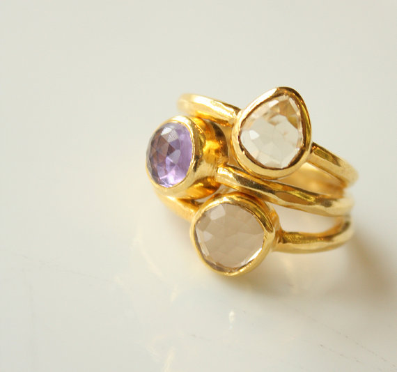 bridesmaid rings