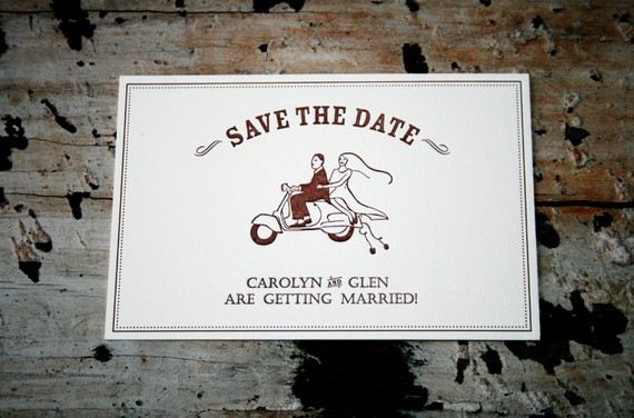 handmade save the dates