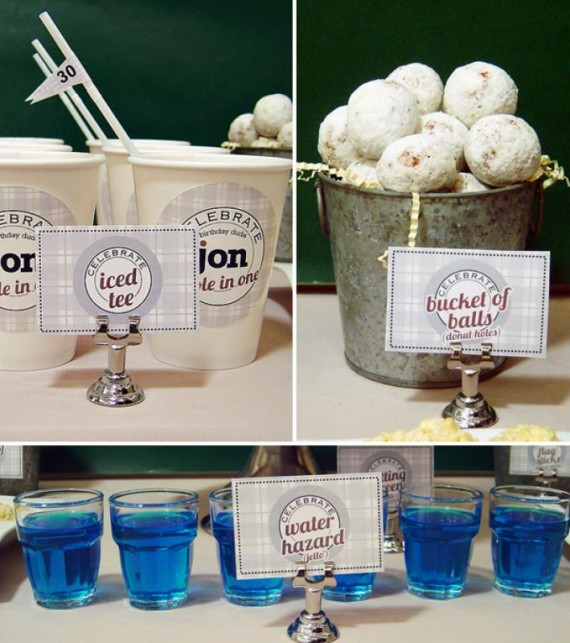 Golf Course Wedding Ideas: Golf Themed Wedding Ideas