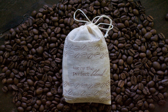 wedding coffee favors