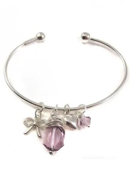 wedding charm bracelet