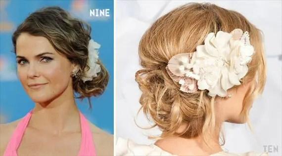 chignon wedding hairstyles