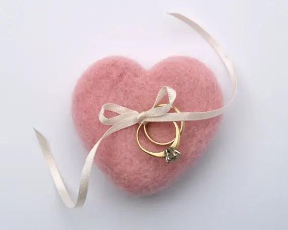 unique ring pillow