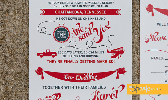 Wedding Invitations To Tell Your Story
