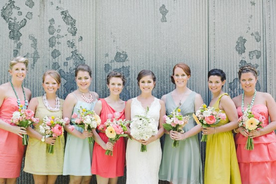 unique bridesmaid dresses