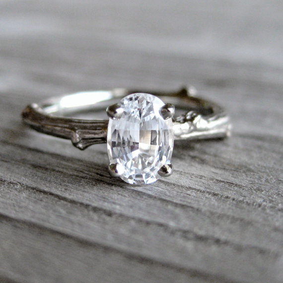 handmade wedding rings best engagement rings etsy via httpemmalinebride - Handmade Wedding Rings