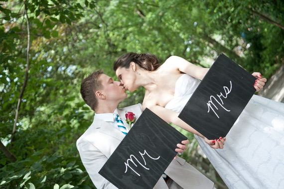 mr and mrs signs