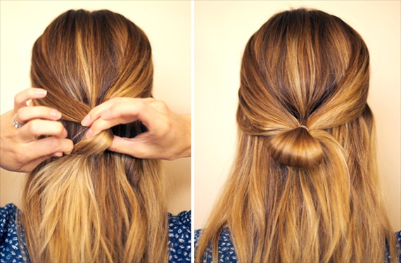 how to hair bow tutorial