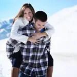 Snowy Idaho Engagement