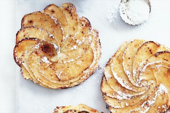 brioche and apple tart - fall desserts for weddings