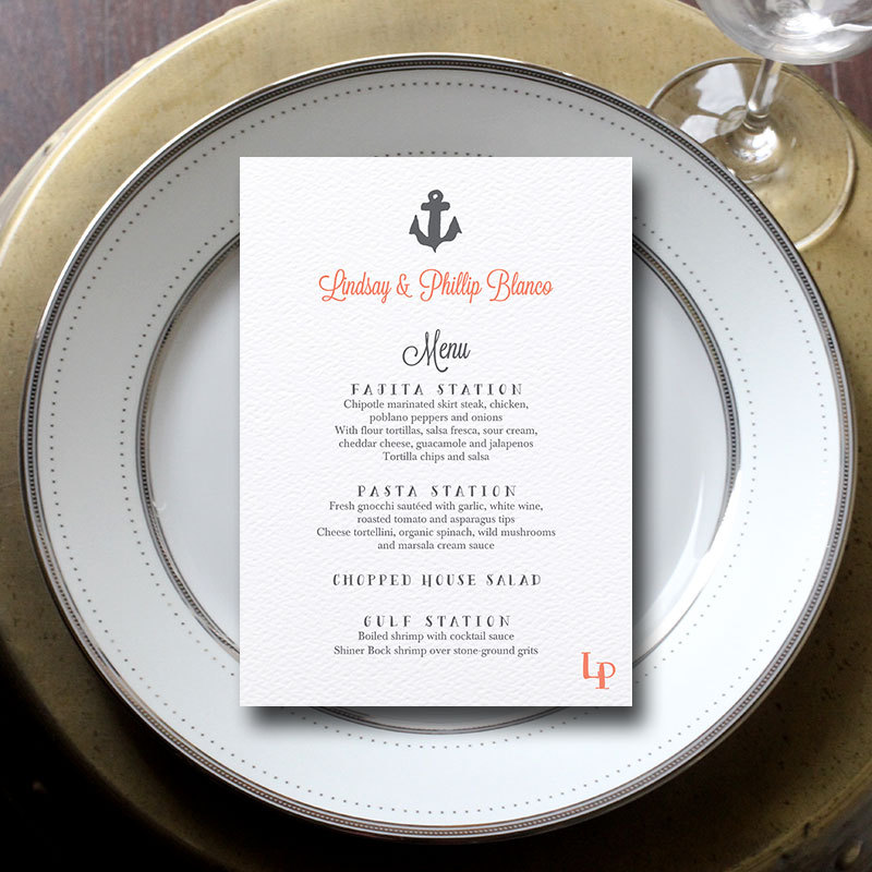 Wedding Menu Cards: 3 Reasons Why You Need Them | Emmaline Bride