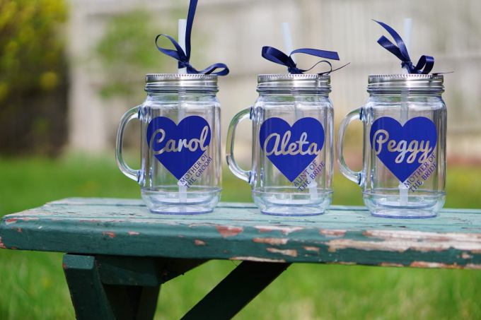 Mason Jar Mug Wedding Favors Bridalpulse