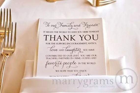 7 Ways To Thank Guests At A Wedding Emmaline Bride 174