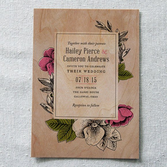 storybook-floral-wooden-wedding-invitations