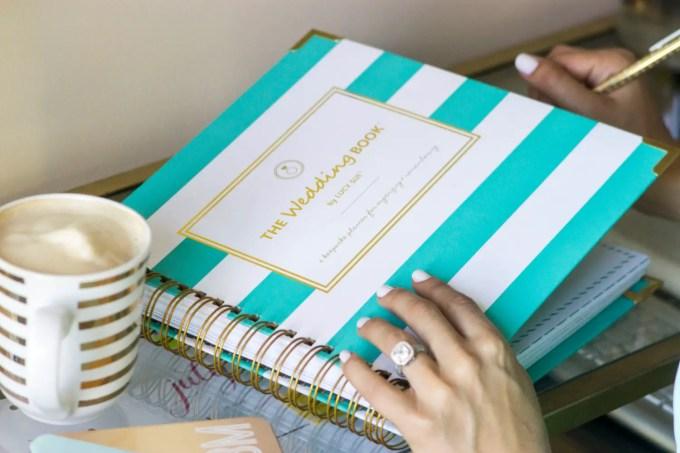wedding planning book organizer
