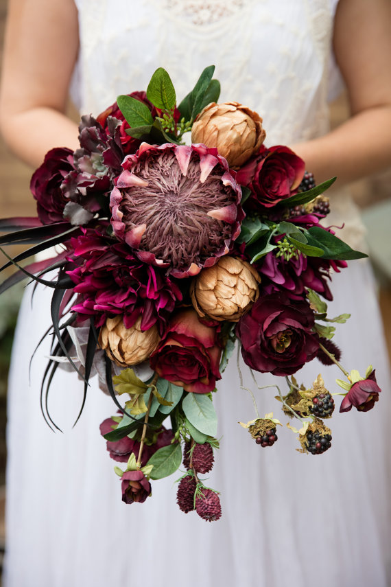 bouquet-marsala-gold-by-pumpkinandpye