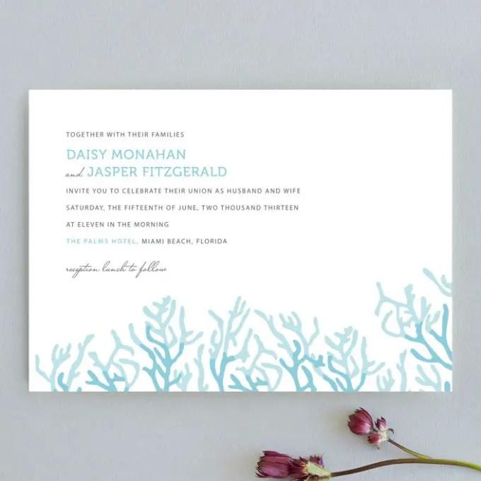 nautical wedding invitations
