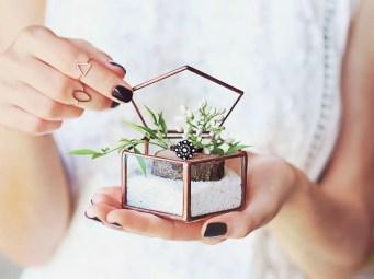 rose gold ring box by waen