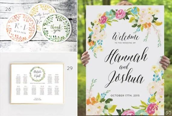 watercolor wedding ideas - 3