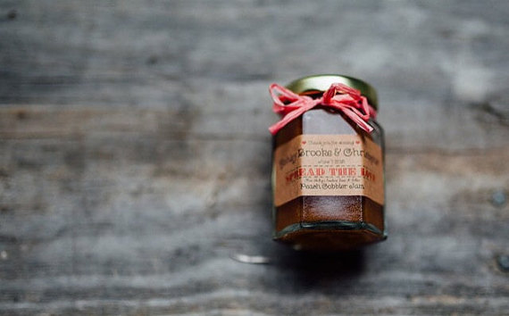 favors in jars by SouthernJamsandJelly
