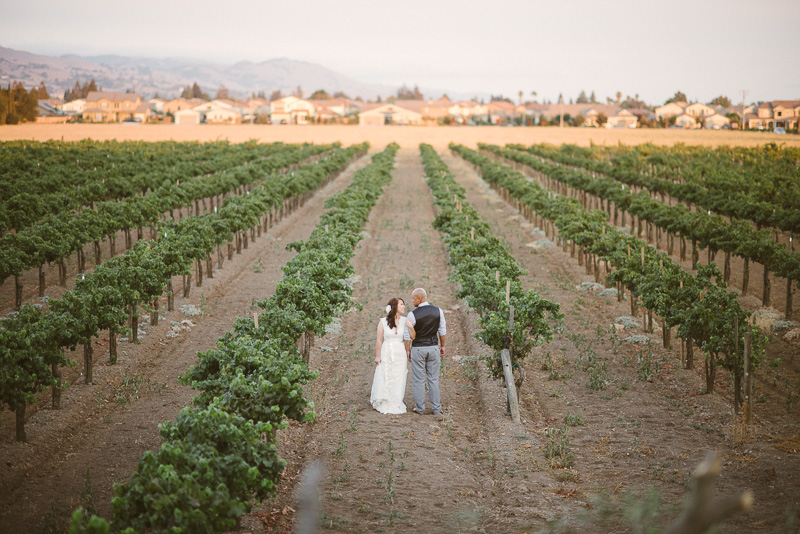 A Stunning Guglielmo Winery Wedding In California: Real