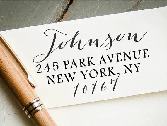 custom address stamp - image 2