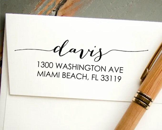 custom address stamp - image 9