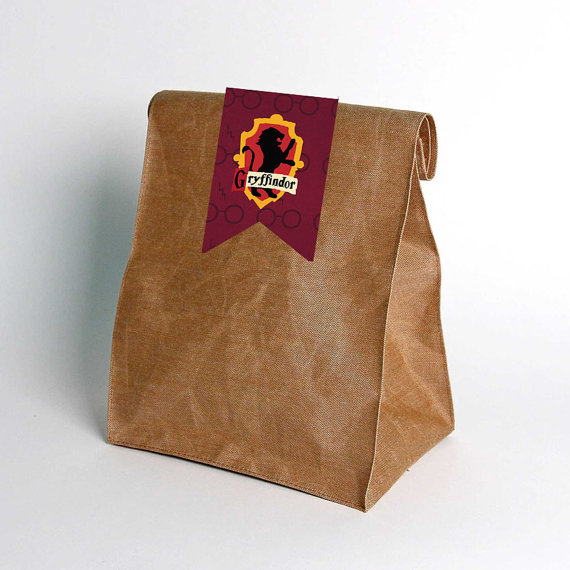harry potter wedding favor bags