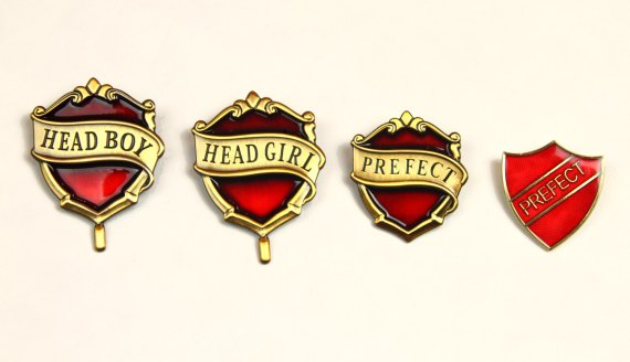 hogwarts prefect badge