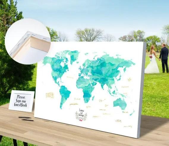 43 Dreamy Watercolor Inspired Wedding Ideas: 43 Inspiring Travel Themed Wedding Ideas