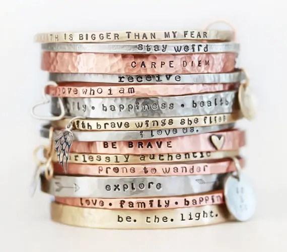 special message bracelet band