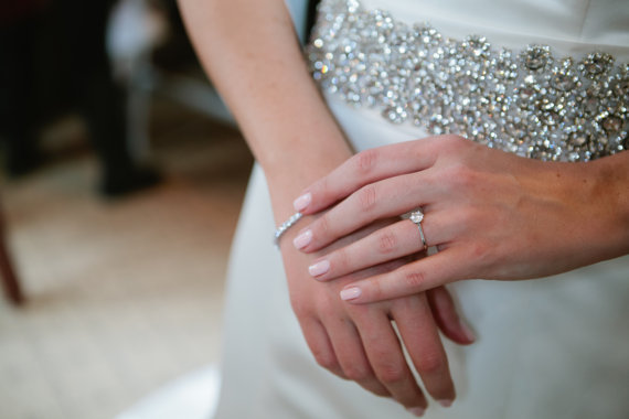 wide rhinestone belt by SparkleSMBridal | via Should I Add a Sash to My Dress? on Emmaline Bride | http://emmalinebride.com/bride/should-i-add-sash-to-wedding-dress/