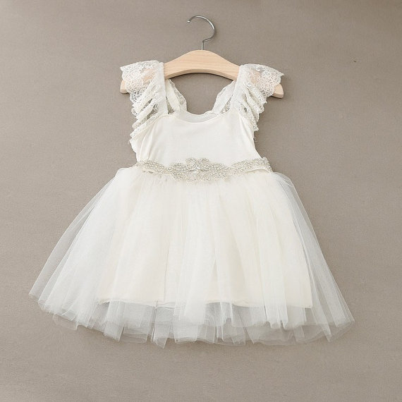 Beestyledkids flower girl dress